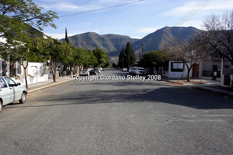 GRAAFF-REINET - 28 June 2008 - A quiet street scene in the historical town of Graaff-Reinet, which is the fourth oldest town in South Africa..Picture: Giordano Stolley/Allied Picture Press/APP