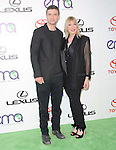 Debbie Levin and Justin Timberlake attends The 21st Annual Environmental Media Awards held at at Warner Bros. Studios in Burbank, California on October 15,2011                                                                               © 2011 DVS / Hollywood Press Agency
