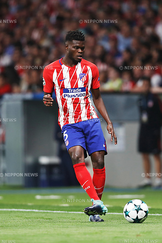 Thomas Partey (Atletico), SEPTEMBER 27, 2017 - Football / Soccer : UEFA Champions League Mtchday 2 Group C match between Club Atletico de Madrid 1-2 Chelsea FC at the Estadio Metropolitano in Madrid, Spain. (Photo by Mutsu Kawamori/AFLO) [3604]
