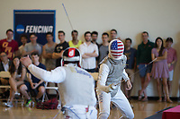 STANFORD, CA - MARCH 11, 2017:  Stanford Fencing during the NCAA Regionals at Stanford.