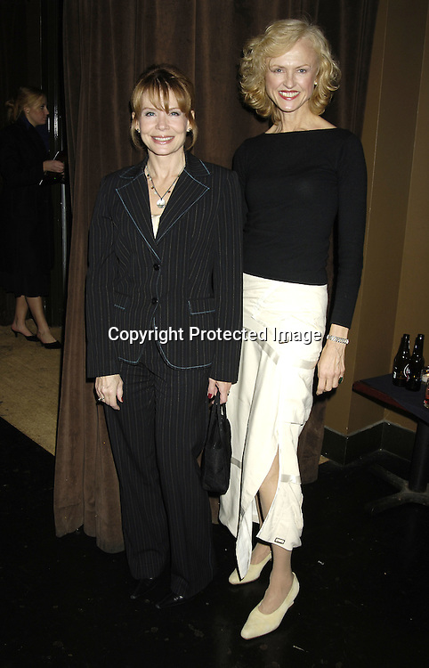Julia Barr and Jill Larson ..