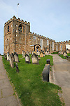 Church of Saint Mary, Whitby, North Yorkshire, UK