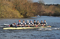 023 .UTC-Wootton .IM2.8+ .Upper Thames RC. Wallingford Head of the River. Sunday 27 November 2011. 4250 metres upstream on the Thames from Moulsford railway bridge to Oxford Universitiy's Fleming Boathouse in Wallingford. Event run by Wallingford Rowing Club..