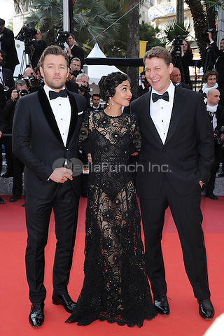 Jeff Nichols, Ruth Negga and Joel Edgerton  at the 'Loving' screening during The 69th Annual Cannes Film Festival on May 16, 2016 in Cannes, France.<br /> CAP/LAF<br /> &copy;Lafitte/Capital Pictures /MediaPunch ***NORTH AND SOUTH AMERICA ONLY***