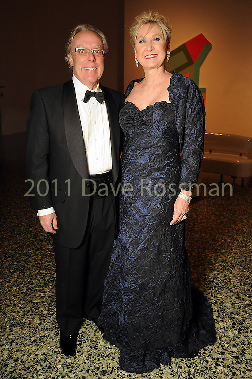 Chairs Carol and Mike Linn at the Museum of Fine Arts Houston 's 2010 Grand Gala Ball  Friday Oct. 01, 2010. (Dave Rossman/For the Chronicle)