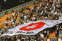SAO PAULO, SP, 11 JULHO 2012 - CAMPEONATO BRASILEIRO - COR X BOT -  Torcida do Corinthians durante partida contra Botafogo valido pela setima rodada do Campeonato Brasileiro no Estadio do Pacaembu na noite dessa quarta-feira, 11 - FOTO: WILLIAM VOLCOV - BRAZIL PHOTO PRESS.