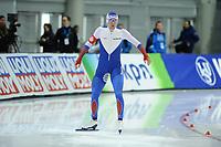 SPEEDSKATING: SALT LAKE CITY: 08-12-2017, Utah Olympic Oval, ISU World Cup, 500m Men B-Division, Alexey Yesin (RUS), ©photo Martin de Jong