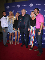 "01 August 2019 - Las Vegas, NV - Erin Bradshaw, Tammy Bradshaw, Terry Bradshaw, Rachel Bradshaw. Terry Bradshaw Debuts ""The Terry Bradshaw Show at Luxor Hotel and Casino. Photo Credit: MJT/AdMedia"