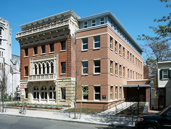 The renovated Stoeckel Hall at Yale University, New Haven, CT.