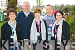 Pictured at the INTO conference in the INEC, Killarney on Monday were Josephine Doncel, St Olivers, Killarney, Denis Coleman, CBS Tralee, Juliette Kelly and Tim Horgan, St Olivers, Killarney and Ursala Coffey, Holy Cross Mercy school, Killarney...............................