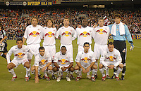 New York Red Bulls starting eleven. DC United tied the New York Red Bulls 1-1 and won on a 2-1 aggregate in their Eastern Conference Semifinals series on Sunday, November 29, 2006 at RFK Stadium.