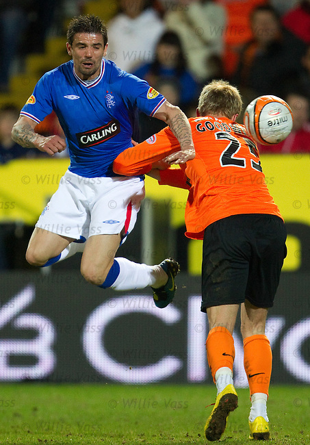 Nacho Novo and David Goodwillie