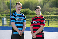 Pictured: Cardiff and Vale College Rugby squad photos at Cardiff International Sports Stadium, Cardiff, Wales, UK.<br /> Wednesday 10 April 2019