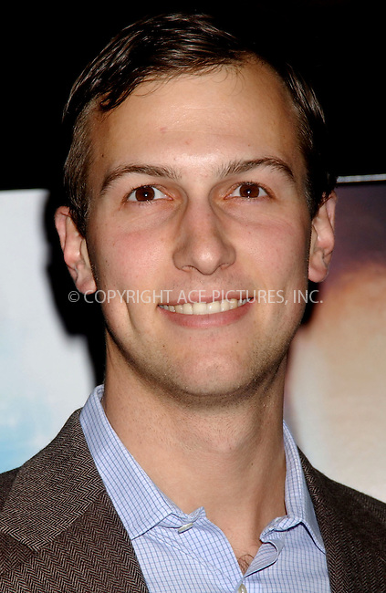 WWW.ACEPIXS.COM . . . . . ....December 10, 2006, New York City. ....Jared Kushner, Publisher of The New York Observer attends the premiere of 'Miss Potter' sponsored by The New York Observer, L'Oreal Paris and T-Mobile at the Director's Guild of America. ....Please byline: KRISTIN CALLAHAN - ACEPIXS.COM.. . . . . . ..Ace Pictures, Inc:  ..(212) 243-8787 or (646) 769 0430..e-mail: info@acepixs.com..web: http://www.acepixs.com