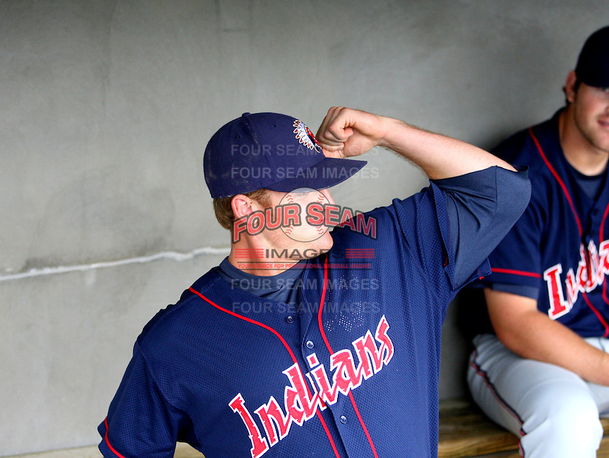 Johnny Drennen / Kinston Indians..Photo by:  Bill Mitchell/Four Seam Images