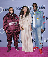 "08 February 2018 - West Hollywood, California - DJ Khaled, Evvie McKinney, Sean ""Diddy"" Combs. The Four: Battle For Stardom season finale viewing party held at Delilah. Photo Credit: Birdie Thompson/AdMedia"