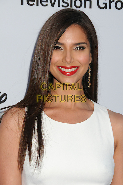 Roselyn Sanchez.Disney Media Networks International Upfronts 2013 held at Walt Disney Studios, Burbank, California, USA..May 19th, 2013.headshot portrait red lipstick white sleeveless  .CAP/ADM/BP.©Byron Purvis/AdMedia/Capital Pictures