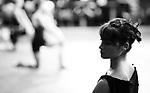 English National Ballet. 3 Mills studio. Swan Lake rehearsals