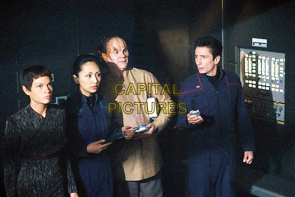 "JOLENE BLALOCK & LINDA PARK.in Star Trek: Enterprise.""Vox Sola"" .Ref: FBAW.*Editorial Use Only*.www.capitalpictures.com.sales@capitalpictures.com.Supplied by Capital Pictures."
