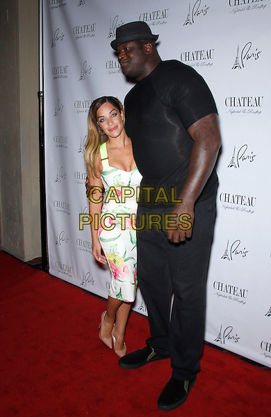 27 June 2015 - Las Vegas, Nevada -  Laticia Rolle, Shaquille O'Neal.  Shaquille O'Neal, aka DJ Diesel, at Chateau Nightclub and Rooftop at Paris Las Vegas.  <br /> CAP/ADM/MJT<br /> &copy; MJT/AdMedia/Capital Pictures