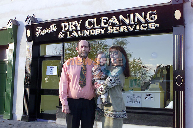 Farrell Dry cleaners 3..Picture Fran Caffrey Newsfile.