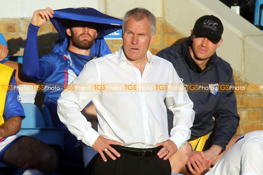 Gillingham manager, Peter Taylor - Gillingham vs Crawley Town - Sky Bet League One Football at Priestfield Stadium, Gillingham Kent - 25/10/14 - MANDATORY CREDIT: Paul Dennis/TGSPHOTO - Self billing applies where appropriate - contact@tgsphoto.co.uk - NO UNPAID USE