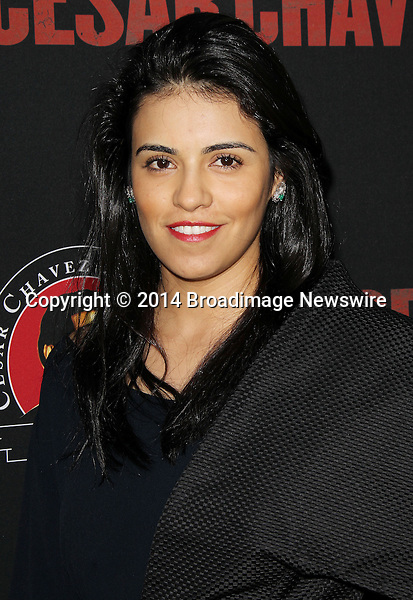 Pictured: Olga Segura<br /> Mandatory Credit &copy; Frederick Taylor/Broadimage<br /> Premiere Of Pantelion Films And Participant Media's &quot;Cesar Chavez&quot; - Arrivals<br /> <br /> 3/20/14, Hollywood, California, United States of America<br /> <br /> Broadimage Newswire<br /> Los Angeles 1+  (310) 301-1027<br /> New York      1+  (646) 827-9134<br /> sales@broadimage.com<br /> http://www.broadimage.com