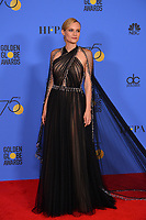 Diane Kruger at the 75th Annual Golden Globe Awards at the Beverly Hilton Hotel, Beverly Hills, USA 07 Jan. 2018<br /> Picture: Paul Smith/Featureflash/SilverHub 0208 004 5359 sales@silverhubmedia.com