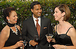 From left: Danielle Ellis, Aashish Shah and Roseanne Rogers at the Rose Ribbon Dinner at Fleming's Prime Steakhouse Thursday June 04,2009.(Dave Rossman/For the Chronicle)