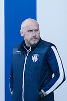 John McGreal, Manager of Colchester United during Colchester United vs Carlisle United, Sky Bet EFL League 2 Football at the JobServe Community Stadium on 23rd February 2019