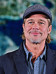 "Actor Brad Pitt attends the press conference for ""Ad Astra"" at the National Museum of Emerging Science and Innovation,  Miraikan in Tokyo, Japan on September 12, 2019. (Photo by AFLO)"