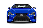 Car photography straight front view of a 2018 Lexus LC Blue Edition 2 Door Coupe