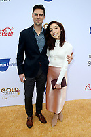 "05 January 2019 - West Hollywood California - Fedor Andreev and Meryl Davis. 6th Annual ""Gold Meets Golden"" Party Hosted by Nicole Kidman and Nadia Comaneci held at the House on Sunset. Photo Credit: Faye Sadou/AdMedia"
