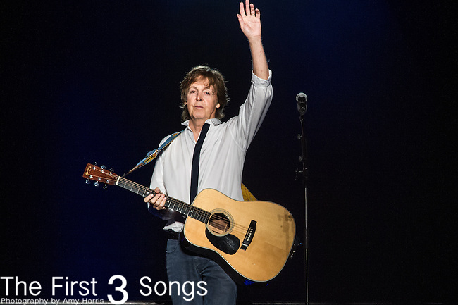 Paul McCartney performs at the Outside Lands Music & Art Festival at Golden Gate Park in San Francisco, California.