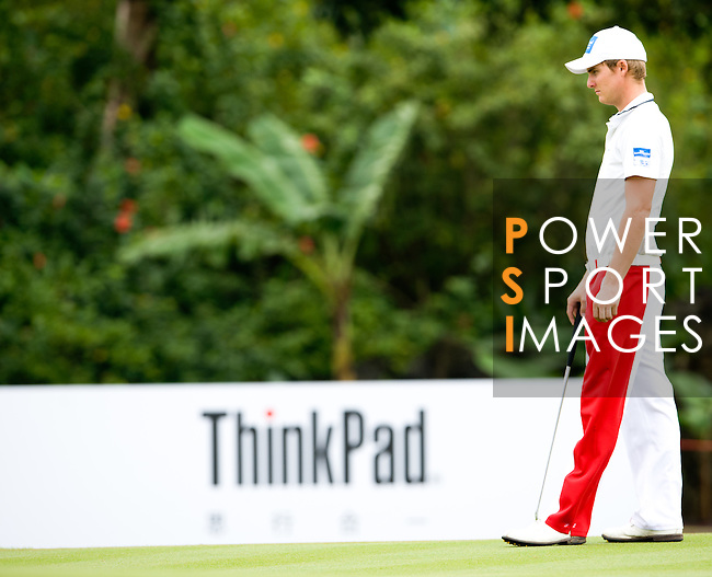 Action during day 3 of The 56th World Cup of Golf 2011 - Held at Mission Hills - China - Photo by © Victor Fraile / The Power of Sport Images