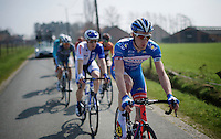 another strong performance by Frederik Backaert (BEL/Wanty-Groupe Gobert), who was in the breakaway group for almost the entire race<br /> <br /> 103rd Scheldeprijs 2015
