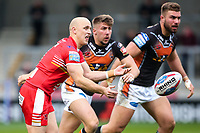 Picture by Alex Whitehead/SWpix.com - 19/03/2017 - Rugby League - Betfred Super League - Salford Red Devils v Castleford Tigers - AJ Bell Stadium, Salford, England - Salford's Michael Dobson.