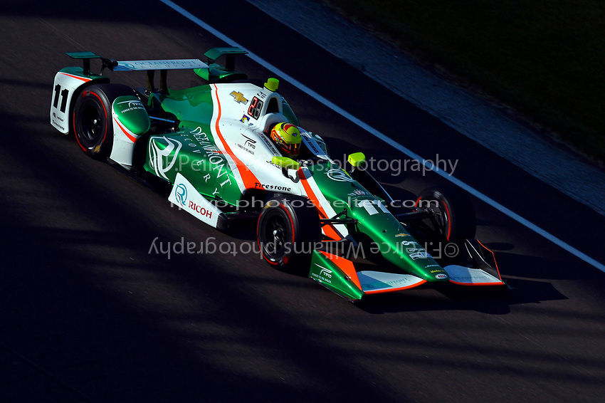 Verizon IndyCar Series<br /> Indianapolis 500 Practice<br /> Indianapolis Motor Speedway, Indianapolis, IN USA<br /> Monday 15 May 2017<br /> Spencer Pigot, Juncos Racing Chevrolet<br /> World Copyright: F. Peirce Williams