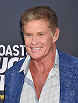 HOLLYWOOD, CA - JULY 14: David Hasselhoff arrives at the Comedy Central Roast Of Bruce Willis at the Hollywood Palladium on July 14, 2018 in Los Angeles, California.