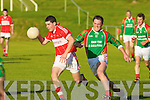 Dingle's Michea?l O? Ge?ibheannaigh and St Michaels Foilmore's Cian O'Connor.