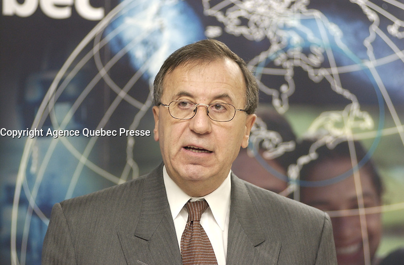 Montreal (Qc) CANADA -2001 File Photo : Andre Boulerice