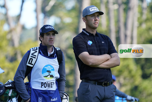 Seamus Power (IRL) at Spyglass Hill during the second round of the AT&T Pro-Am, Pebble Beach, Monterey, California, USA. 06/02/2020<br /> Picture: Golffile | Phil Inglis<br /> <br /> <br /> All photo usage must carry mandatory copyright credit (© Golffile | Phil Inglis)