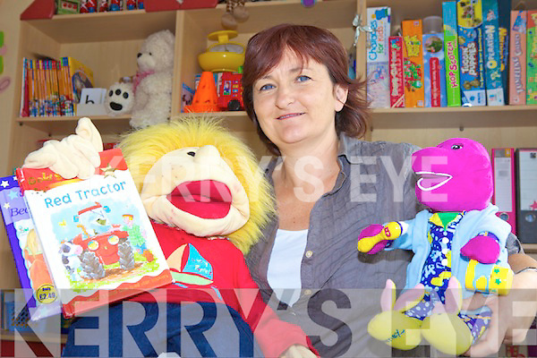 CHILD'S PLAY: Geraldine Galway of the Jolly Tots pre-school in Ballyheigue who is expanding her afternoon services in September.