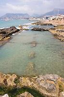 Baños de la Reina / The qeen's baths. Roman fish factory, known as the Banys de la Reina (Queen's Bath).