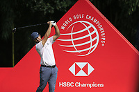 Jorge Campillo (ESP) on the 9th tee during the final round of the WGC HSBC Champions, Sheshan Golf Club, Shanghai, China. 03/11/2019.<br /> Picture Fran Caffrey / Golffile.ie<br /> <br /> All photo usage must carry mandatory copyright credit (© Golffile | Fran Caffrey)