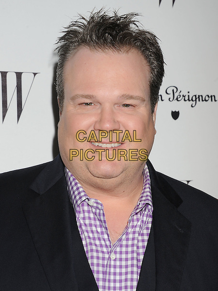 Eric Stonestreet.W Magazine's 69th Annual Golden Globe Awards Celebration held at The Chateau Marmont, West Hollywood, California, USA..13th January 2012.headshot portrait black white purple check shirt.CAP/ROT/TM.©Tony Michaels/Roth Stock/Capital Pictures