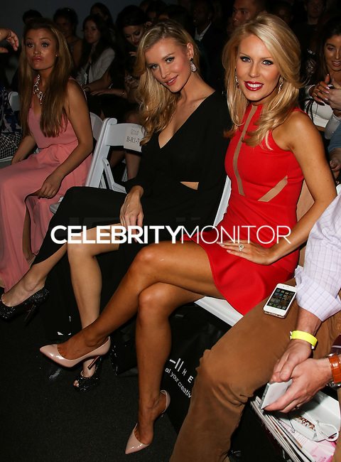 LOS ANGELES, CA, USA - MARCH 10: Joanna Krupa, Gretchen Rossi at the Style Fashion Week LA 2014 7th Season held at L.A. Live Event Deck on March 10, 2014 in Los Angeles, California, United States. (Photo by Xavier Collin/Celebrity Monitor)