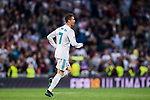 Cristiano Ronaldo of Real Madrid celebrates during the La Liga 2017-18 match between Real Madrid and Athletic Club Bilbao at Estadio Santiago Bernabeu on April 18 2018 in Madrid, Spain. Photo by Diego Souto / Power Sport Images