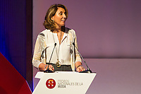 General Secretariat of Industry and Small and Medium Enterprises, Begoña Cristeto during delivery spanish fashion national awards 2016 in the Museum of Costume in Madrid. July 21, 2016. (ALTERPHOTOS/Rodrigo Jimenez) /NORTEPHOTO.COM