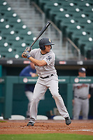 Scranton/Wilkes-Barre RailRiders Breyvic Valera (7) at bat during an International League game against the Buffalo Bisons on June 5, 2019 at Sahlen Field in Buffalo, New York.  Scranton defeated Buffalo 3-0, the first game of a doubleheader.  (Mike Janes/Four Seam Images)